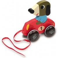 Racerbil, hund