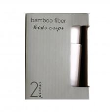 Bambuskopper, sand (2 stk)