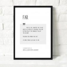 Far, Personlig plakat