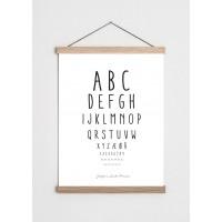 Synstavle ABC & tal med navn