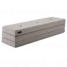 Foldemadras XL, Multi grey w. grey