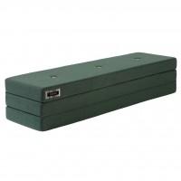 Foldemadras XL, Deep green w. light green