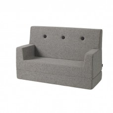 Børnesofa, Multi Grey w. Grey