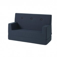 Børnesofa, Dark Blue w. Black