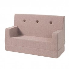 Børnesofa, Soft Rose w. Rose