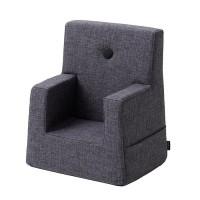 Børnestol, Blue grey w. grey
