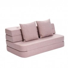 Foldesofa, Soft rose w. rose