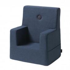 Børnestol, Dark blue w. black