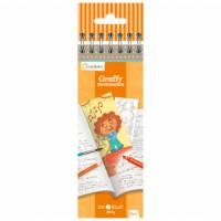 Design selv bogmærker, orange