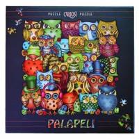 Puslespil - Ugler