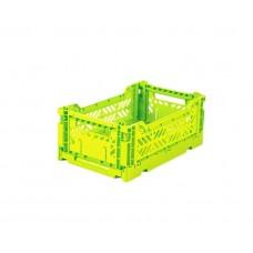 Foldekasse, acid yellow - Mini