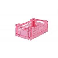 Foldekasse, baby pink / lyserød- Mini