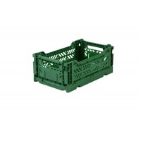 Foldekasse, dark green / mørkegrøn - Mini