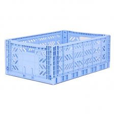 Foldekasse, baby blue / lyseblå - Maxi