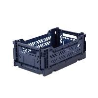 Foldekasse, navy / mørkeblå - Mini