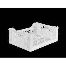 Foldekasse, white / hvid - Midi