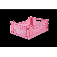 Foldekasse, baby pink / lyserød - Midi