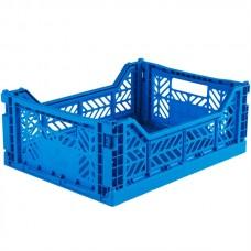 Foldekasse, electric blue / elektriskblå - Midi