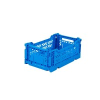 Foldekasse, electric blue / elektrisk blå- Mini