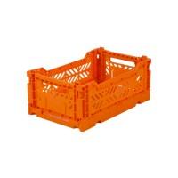 Foldekasse, orange - Mini