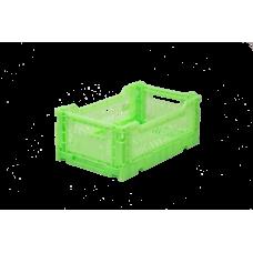 Foldekasse, fluorescent green - Mini