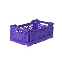 Foldekasse, violet - Mini