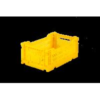 Foldekasse, yellow / gul- Mini