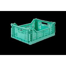 Foldekasse, mint / mintgrøn - Midi