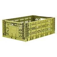Foldekasse, olive / olivengrøn - Maxi (Forudbestilling: Levering uge 43/44)