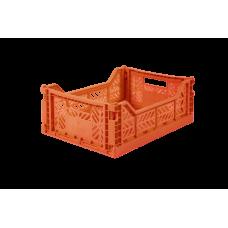 Foldekasse, orange - Midi