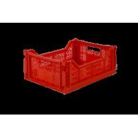 Foldekasse, red / rød- Midi