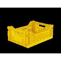 Foldekasse, yellow / gul - Midi