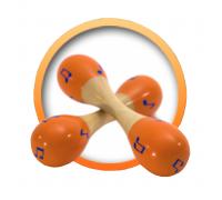 Maracas - orange