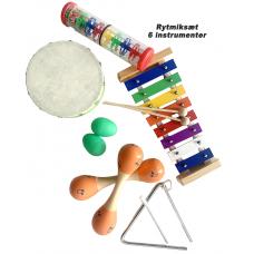 BabyBongo musik og -rytmiksæt (6 instrumenter) (0 kr. Black Friday)