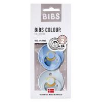 Bibs sutter 2 pk. - sky blue/baby blue (str. 2)