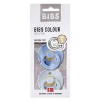 Bibs sutter 2 pk. - sky blue/baby blue (str. 1)