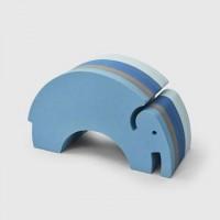 Elefant - blå