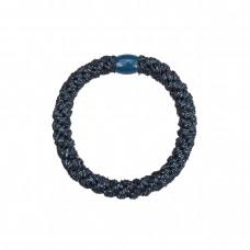 Hårelastik - glitter blue (3 stk.)