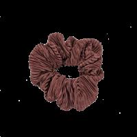 Scrunchie, Plissé golden brown