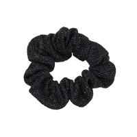 Scrunchie, glitter black