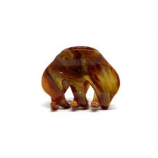 Hårklemme - Saga, brown galaxy