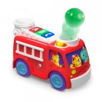 Rullende og poppende brandbil