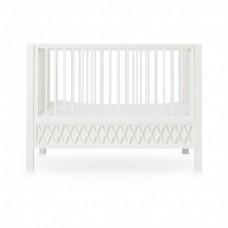Harlequin babyseng, hvid
