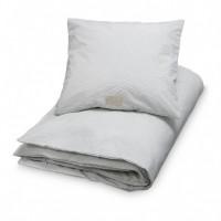 Junior sengetøj, grå bølge