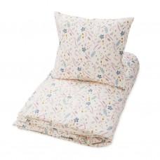 Baby sengetøj - Leaves rose