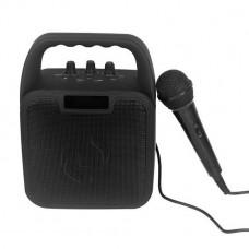 Deal: Trådløs speaker m. mikrofon - Sort