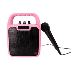 Deal: Trådløs speaker m. mikrofon - Pink