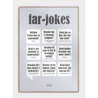Far-jokes plakat, S (30x42, A3)