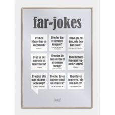 Far-jokes plakat, M (50x70, B2)