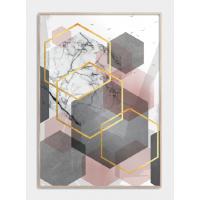 Feminin grafik plakat, M (50x70, B2)